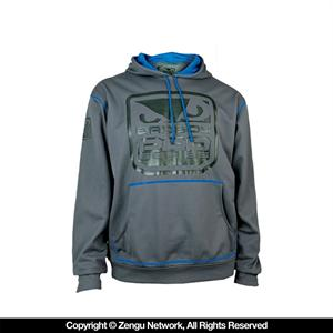 Bad Boy Fight DNA Hoodie - Charcoal